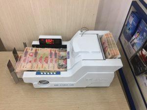 Máy đếm tiền xiudun 5118 chính hãng